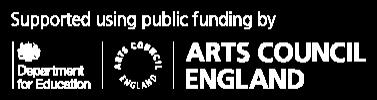 dfe-arts-council-logo-white